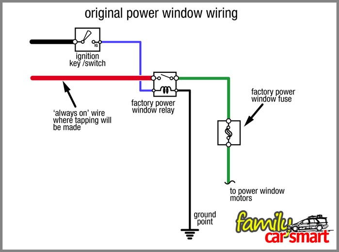 Wiring Diagram For Car Electric Windows