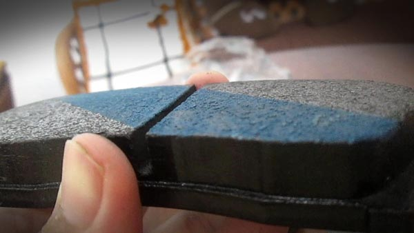 blue titanium strip